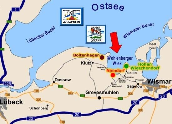 Campingplatz Ostseequelle Hundefreundlich Campen In Hohenkirchen
