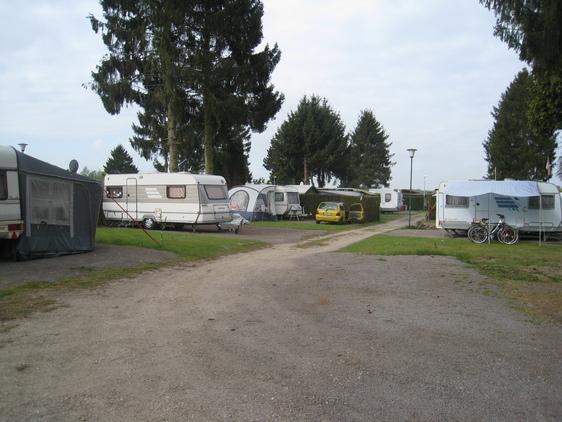 Rv-Campingplatz Kanalanschluss