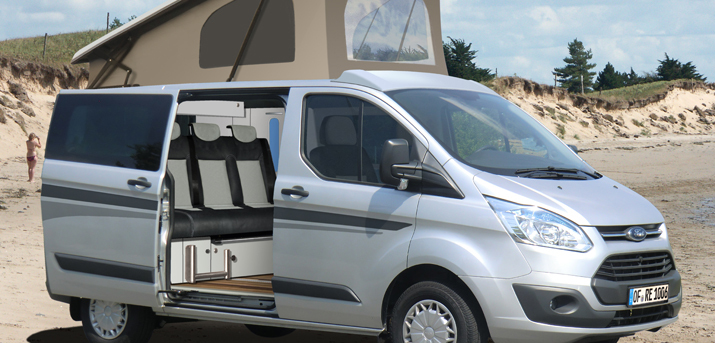 camping news meldung premiere der neue ford transit. Black Bedroom Furniture Sets. Home Design Ideas