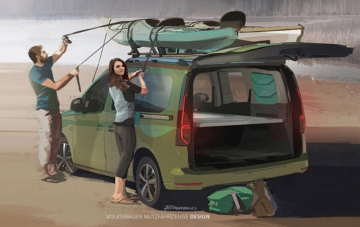 Erste Bilder vom neuen Mini-Camper von VW