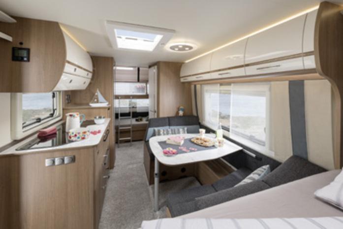 Modern und familienfreundlich: der Fendt-Caravan Opal 515 SKF